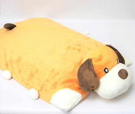 超柔短毛絨天然乳膠嬰兒床墊(小狗狗)