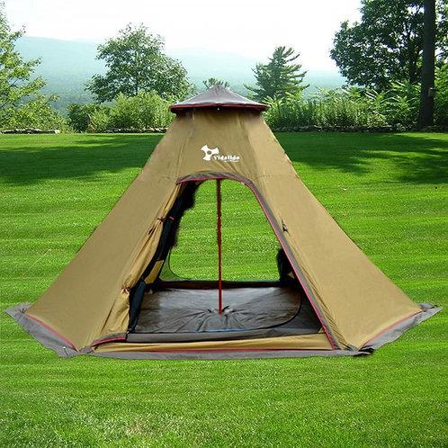 印第安 5人用帳篷