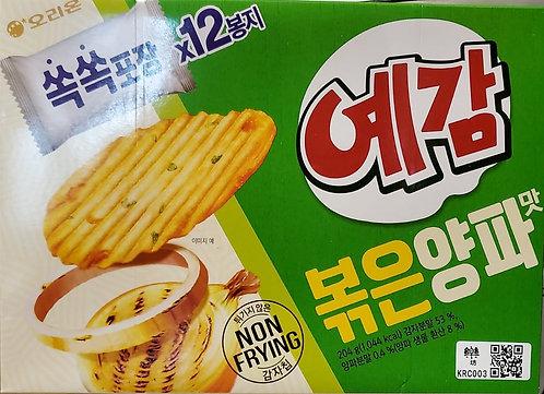韓國 ORION 非油炸薯片 (洋蔥) 204g