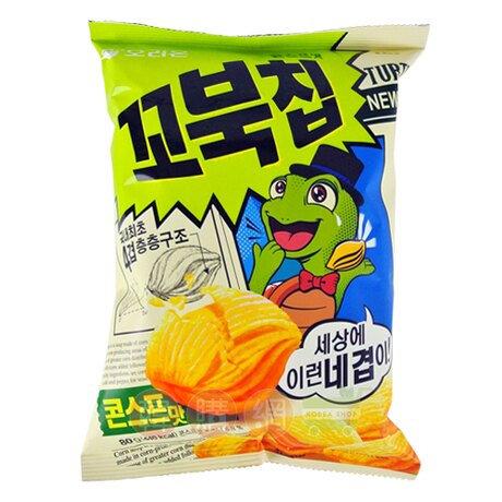 韓國ORION 烏龜粟米濃湯餅 80g