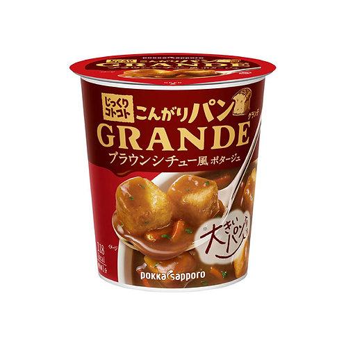 POKKA SAPPORO 棕色燉湯配麵包粒