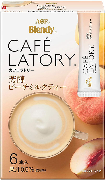 AGF Blendy Cafe Latory 芳醇杏桃味奶茶