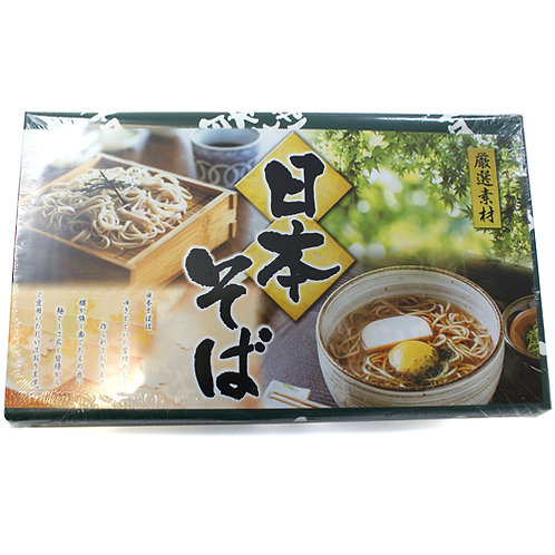 日本 和敬物產 蕎麥麵禮盒 50g X 18束
