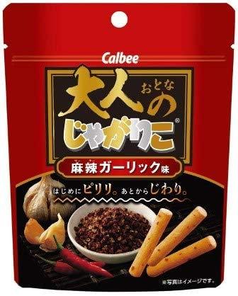 日本 Calbee 卡樂B 麻辣香蒜味粟米條 38g