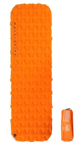輕量級單人充氣睡墊(顏色隨機發送)
