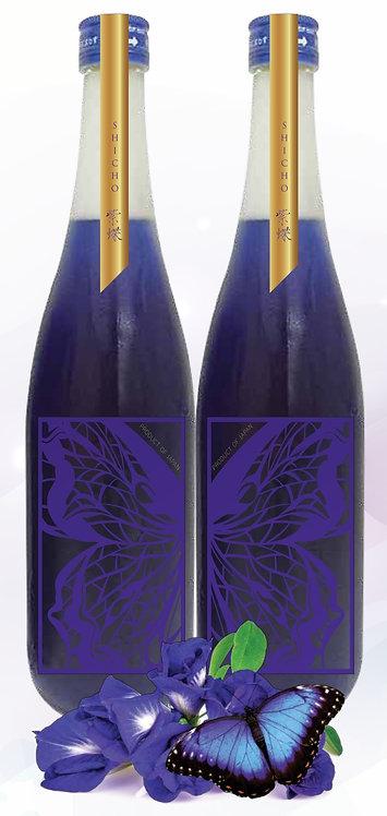 【數量限定】紫蝶 天然紫色日本純米酒