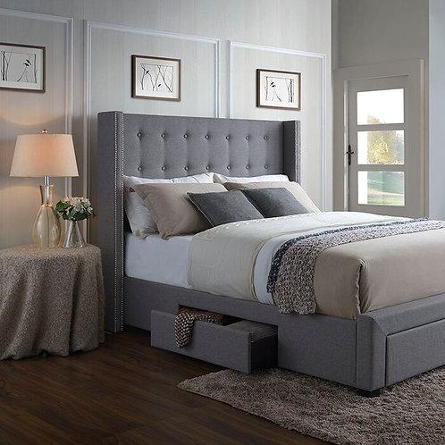 Kerens Upholstered Storage Bed