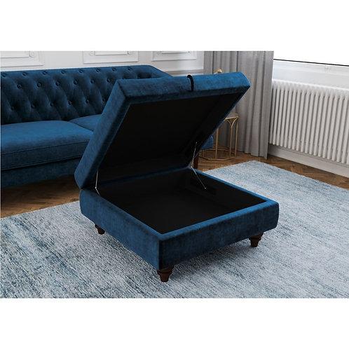 Inez Storage Ottoman Footstool