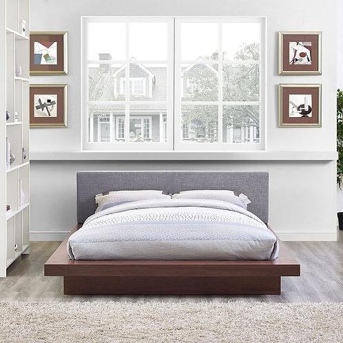 Roman Upholstered Platform Bed