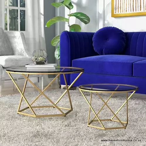 Adrianna 2pc Coffee Table