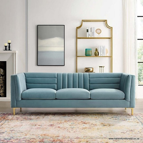 Adams Channel Tufted Sofa
