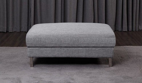 Clio Leather Footstool