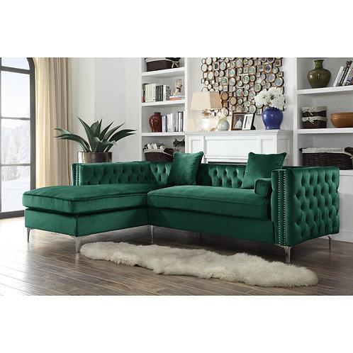 Chic Velvet  Sectional Sofa