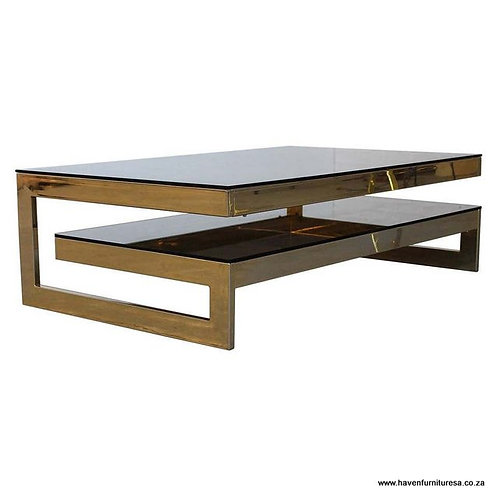 G-Shaped Architectural Coffee Table