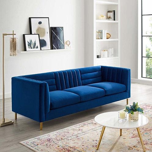 Adams Channel Tufted Sofa