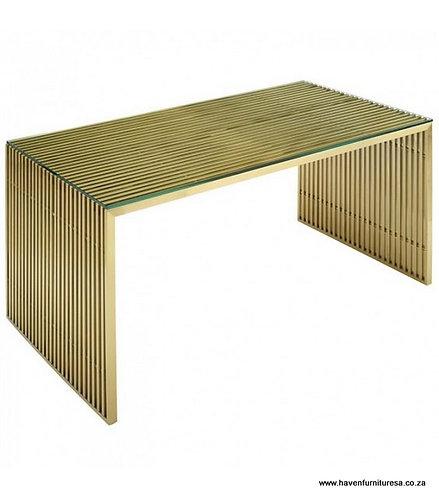Staple Glass Top Desk