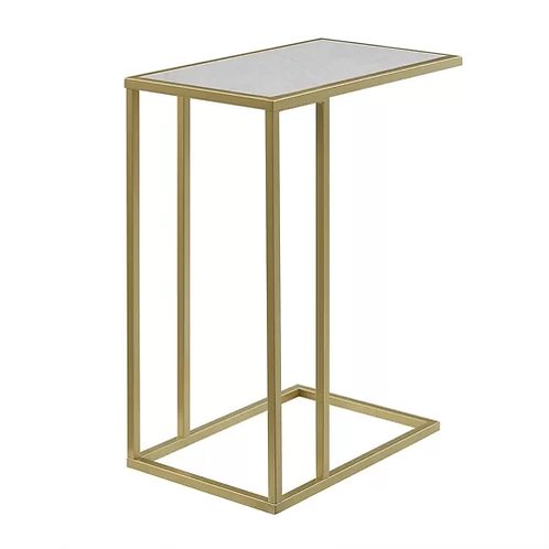 Asymmetrical Modern End Table