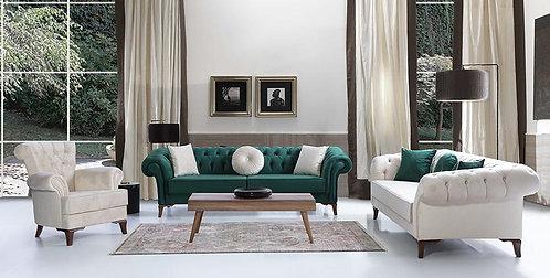 Nora 3pc Sofa Set