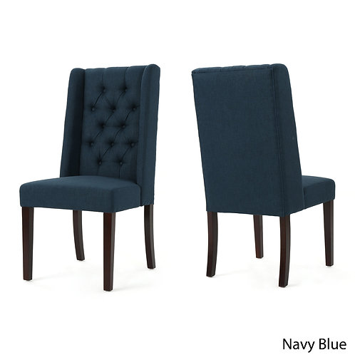Blythe Tufted Fabric Dining Chair
