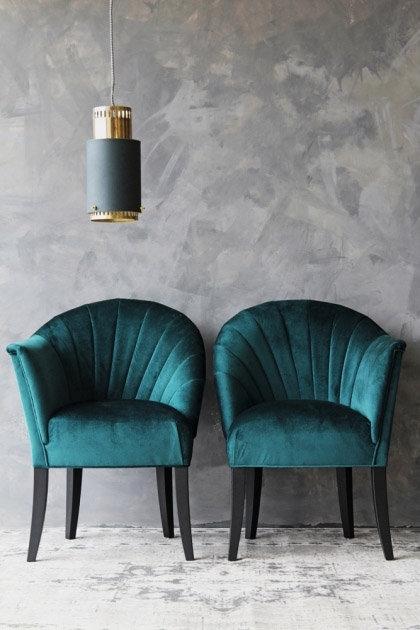 The Lovers Tweed Chair