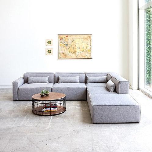Mixed Modular 5pc Sofa