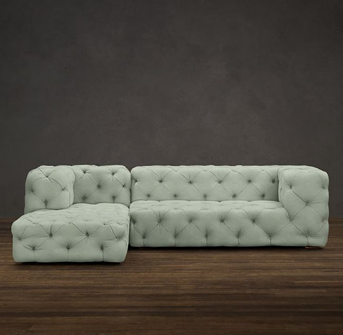 Chester Moon 2pc Chaise