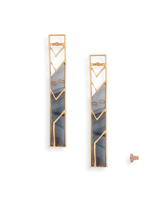 Single Rectangle Earring