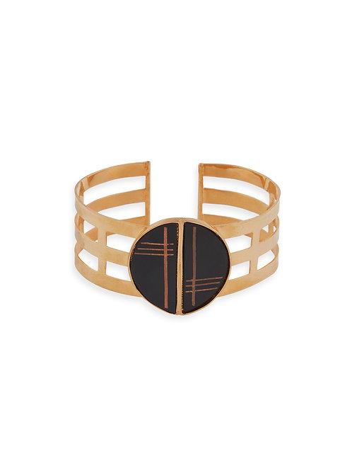 3 Line Bracelets with Bidri