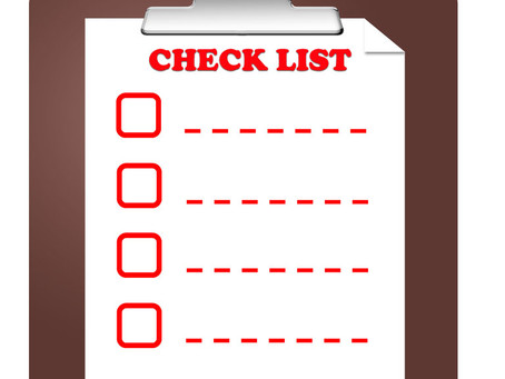 The #Startup Checklist