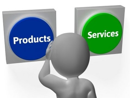 Offering products or services