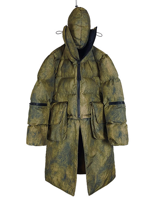 PACKED SLEEPER SEVER RESISTANCE PARKA (GALL CAMO)