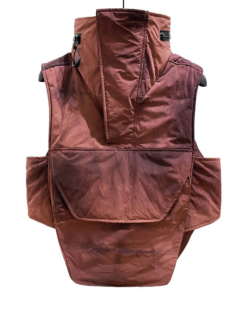 EXPANSION AIR UTILITY VEST (DISTRESSED RED)