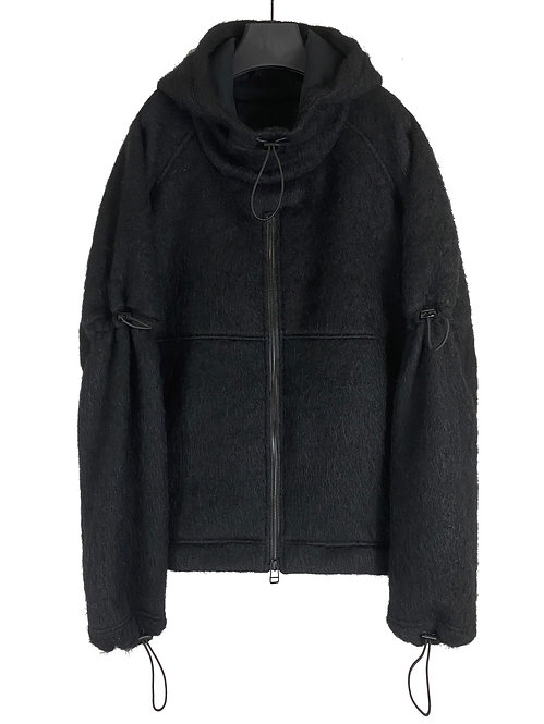 WOOL EXPANSION PULLOVER (BLACK)