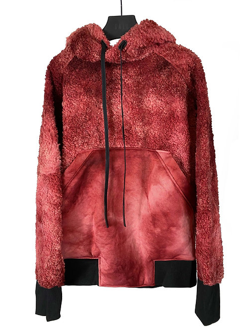 X-INSULATE HOODIE (RED VARIANCE WASH)