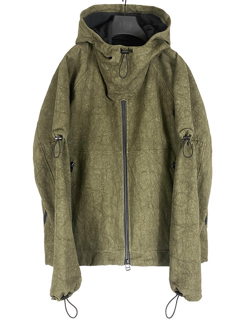 EXPANSION PULLOVER (CRACKED OLIVE)