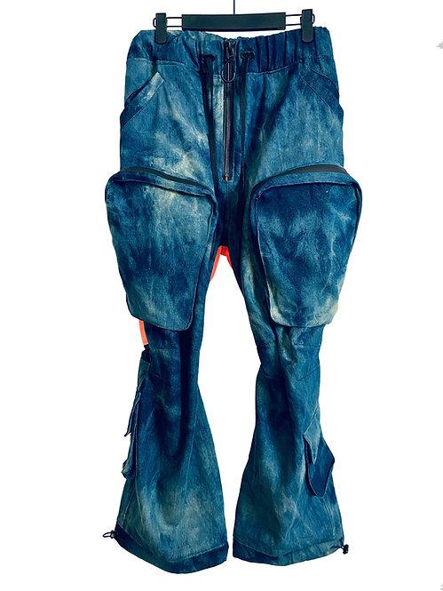 8POCKET CONTRAST TROUSER (CORROSION BLUE)
