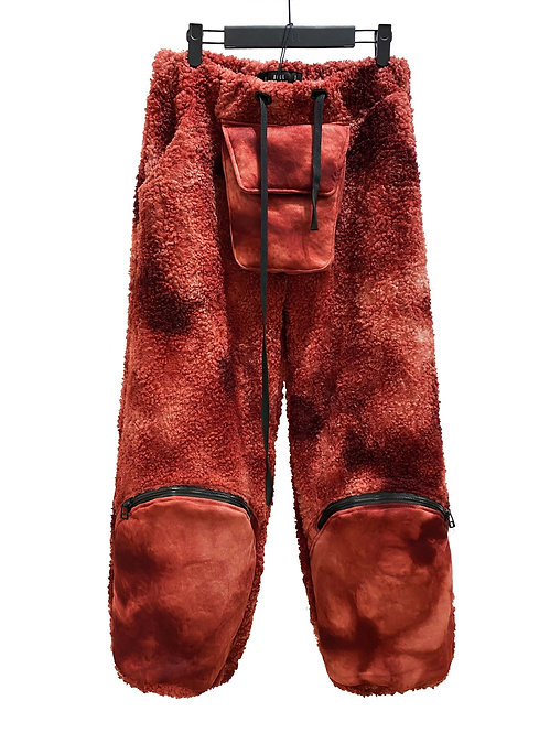 X-INSULATE FLAME THROWER TROUSER (RED VARIANCE WASH)