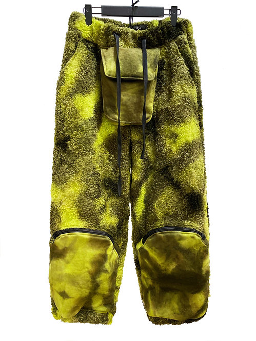 X-INSULATE FLAME THROWER TROUSER (GREEN VARIANCE WASH)