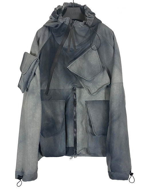 DOUBLE EXPANSION PULLOVER JACKET V3 (DISPERSION STONE)