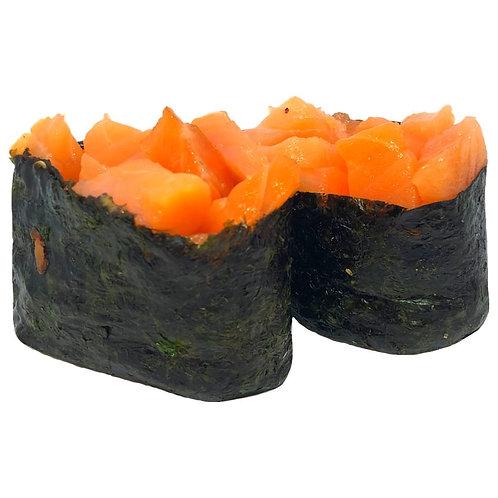 Гунканы с лососем