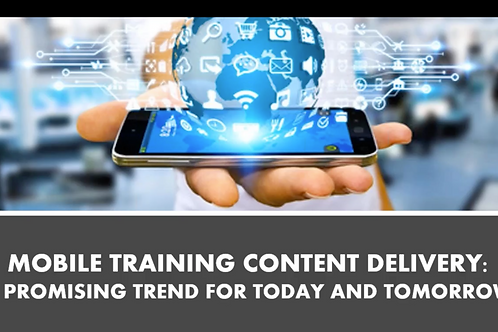 Mobile Training Content Delivery