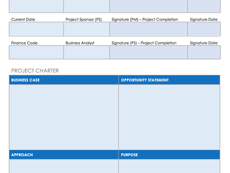 What even is a Project Charter?