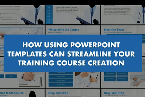 How Using PowerPoint Templates Can Streamline Your Training Course Creation