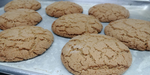 Molasses Cookies by the Lovely Nancy.
