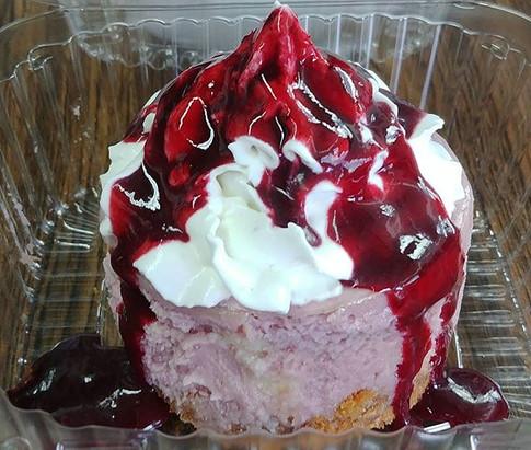 Marionberry Cheesecake