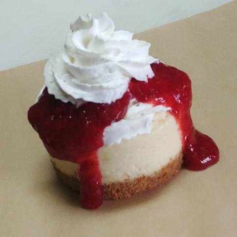Oregon Strawberry Lemonade Cheesecake