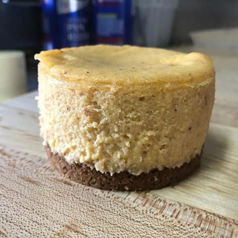 Punkin' Spiced Cheesecake