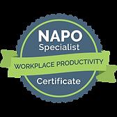 """NAPO Zertifizierung """"Workplace Productivity"""""""