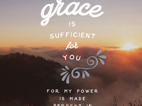 Your Grace is Sufficient