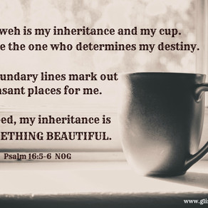 The Lord is my portion